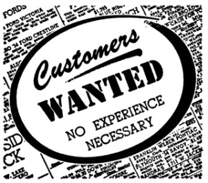 Customers wanted