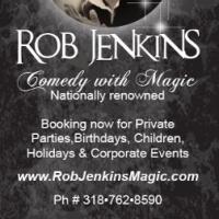 • Rob Jenkins • The Magic Man •